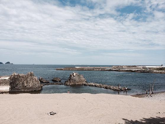久慈の海岸